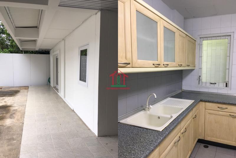 ให้เช่าบ้านเดี่ยว 2 ชั้น 100 ตร.ว บ้านปรับปรุงทาสีใหม่ทั้งหมด